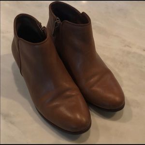 Pre Loved Sam Edelman 6.5 Brown Leather Ankle Boot